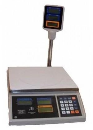 Торговые настольные электронные весы ВТЕ-15Т (Украина)