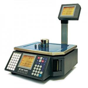 Весы с печатью этикетки Mettler Toledo Tiger 15D Pro (Швейцария)