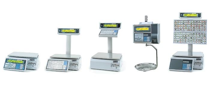 Электронные весы с печатью DIGI SM-500 MK4 (Япония)