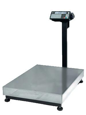 Весы напольные с печатью этикеток Масса-К TB-M Р3 на 150 кг / 300 кг