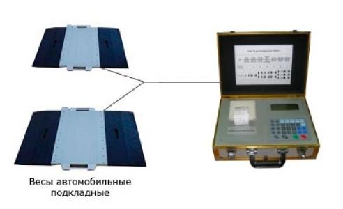 Автомобильные подкладные весы с весоизмерительным модулем М3