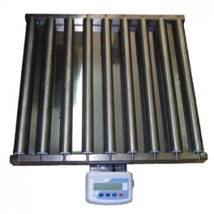 Весы для транспортной ленты с рольгангами