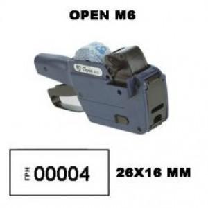 Этикет-пистолет Blitz M6  Open M6