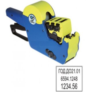 Трехстрочный этикет-пистолет Blitz T117 A1  OPEN T117 A1