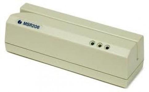 Устройство считывания/записи магнитной полосы MSR 206 (HiCo и LoСо)