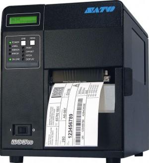 Супер промышленный принтер этикеток SATO M-84 Pro (Япония)