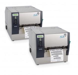 Промышленный принтер печати этикеток Toshiba TEC B SX-6T  Toshiba TEC B SX-8T (Япония)