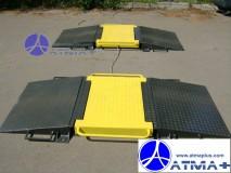 Весы автомобильные подкладные поосевого взвешивания в динамике АКСИС 15