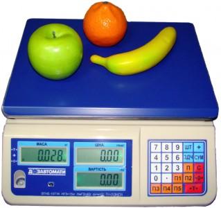Весы настольные электронные ВТНЕ на 6 кг, 15 кг, 30 кг (Украина)