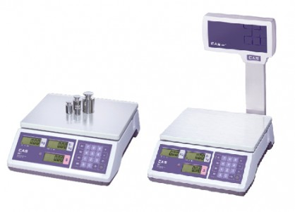 Бюджетные весы для торговли CAS ER на 6 кг / 15 кг / 30 кг (Южная Корея)