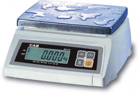 Порционные пыле и влагозащищенные весы CAS SW W