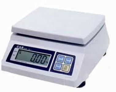 Порционные весы CAS SW 2 кг / 5 кг / 10 кг / 20 кг (Южная Корея)