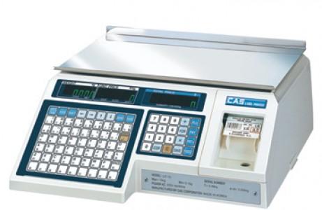 Весы с печатью этикеток CAS LP на 6 кг / 15 кг / 30 кг (Южная Корея)
