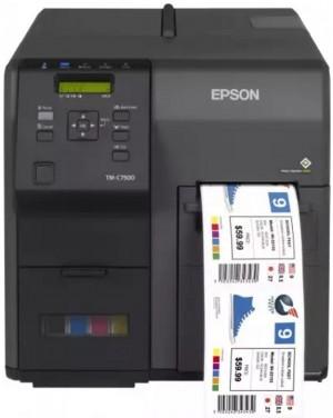 Принтер печати полноцветных этикеток Epson ColorWorks TM-C7500