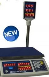 Весы торговые электронные ВТД-РС
